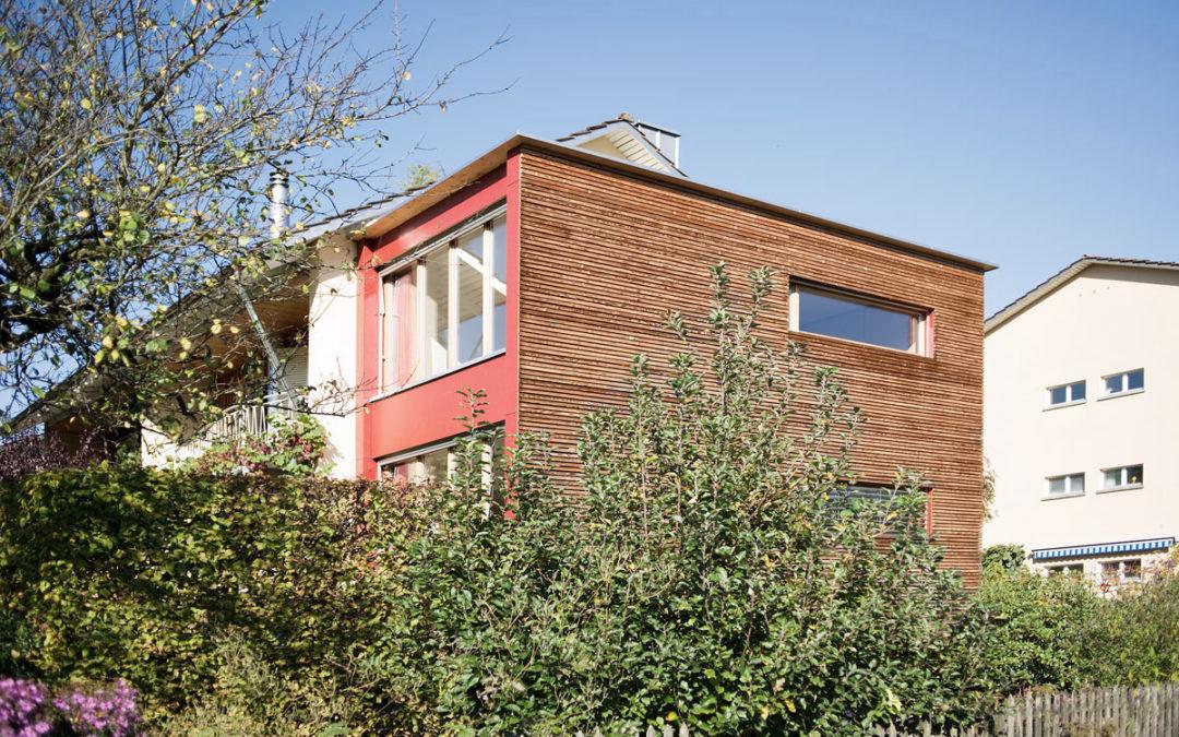 Anbau Doppeleinfamilienhaus Flurweg Zug